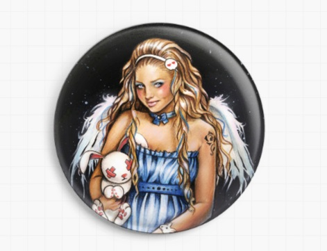 Easter Fairy By Anna Marine - Licensed Art  Needle Minder