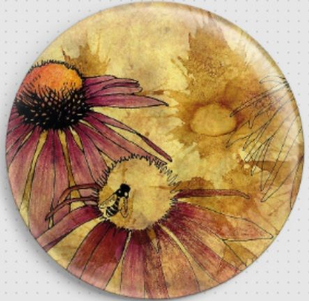 Echinacea by Barbara Glatzeder Needle Minder