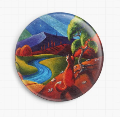 Evening Aurora By Lesley D Mckenzie Licensed Art Needle Minder