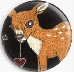 Fawn By Anita Inverarity Licensed Art Needle Minder
