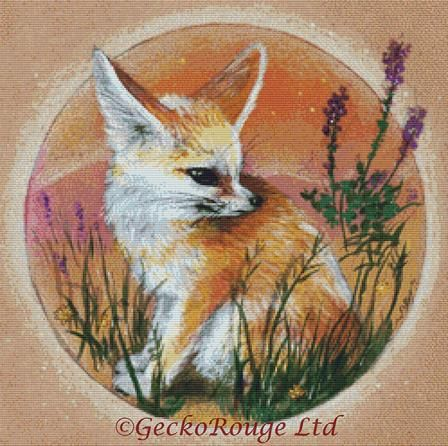 Fennec By Candace McKay Cross Stitch Kit