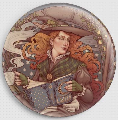 Folk Witch By Medusa Dollmaker Needle Minder