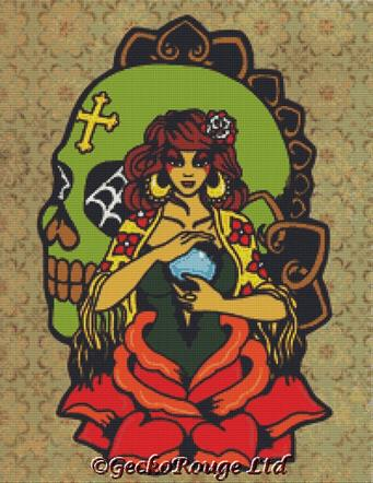 Fortune Teller By Illustrated Ink Cross Stitch Kit