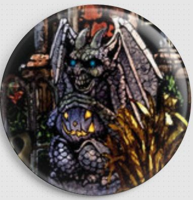 Fright Night By Lewis T.Johnson Licensed Art Needle Minder 8