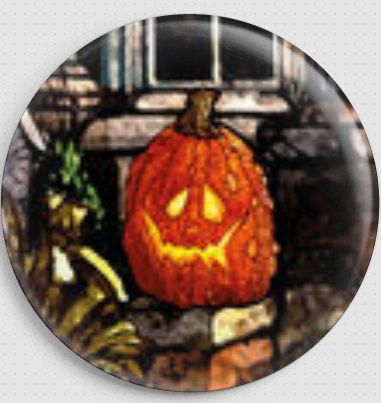 Fright Night By Lewis T.Johnson Licensed Art Needle Minder 9