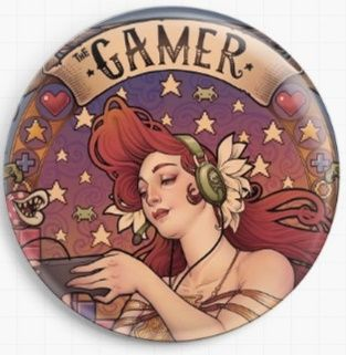 Gamer Nouveau Close Up By Medusa Dollmaker Needle Minder