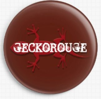 GeckoRouge Needle Minder - Brown