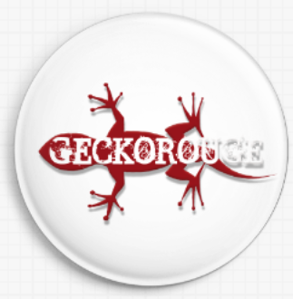GeckoRouge Needle Minder - White