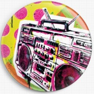 Ghetto Blaster By Sara Bowersock Needle Minder