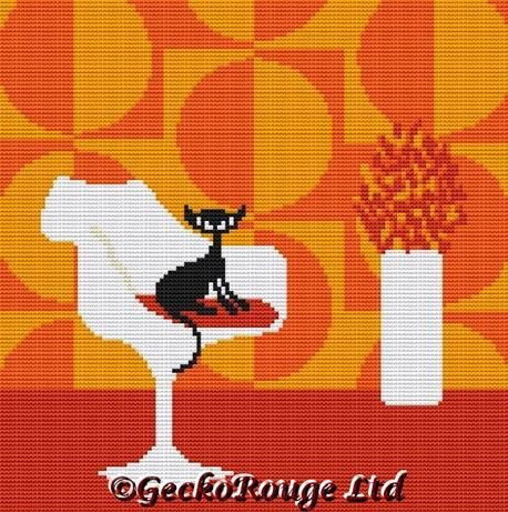 Giggles Cross Stitch Kit By Kerry Beary (KBGIGG)