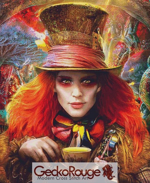 Hatter By Omri Koresh Cross Stitch Kit (OKHT19)
