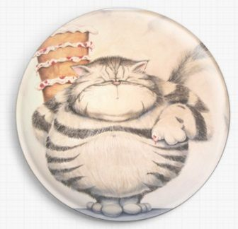 I'm Just Big Boned By David Smith Licensed Art Needle Minder