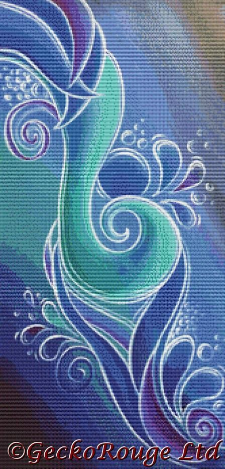 Infinity By Reina Cottier Cross Stitch Kit