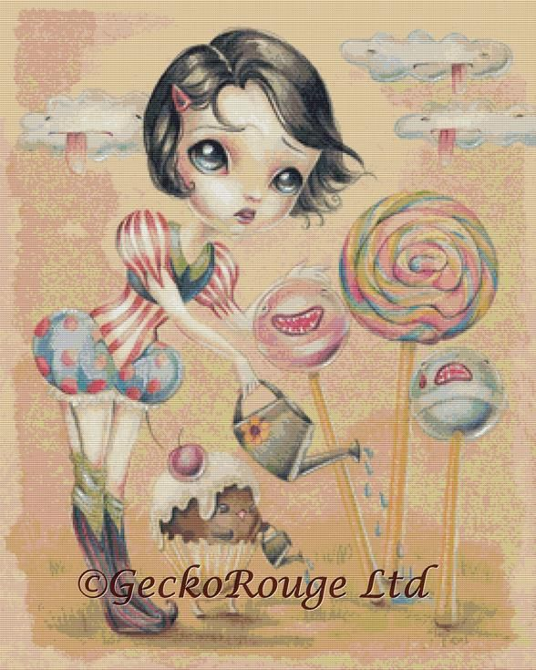 It's a long summer Bettie Rain By Simona Candini Cross Stitch Kit