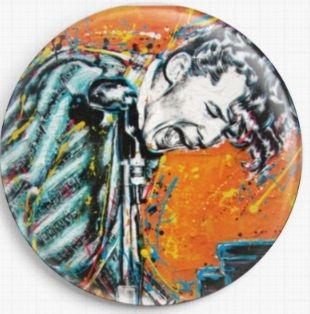 Jerry Lee lewis By Sara Bowersock Needle Minder