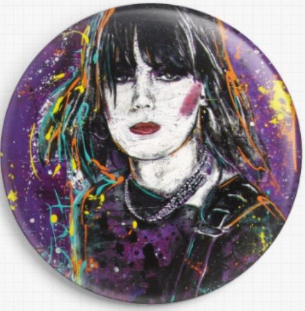 Joan jett By Sara Bowersock Needle Minder
