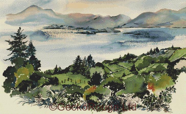Kenmare Bay By Anne Muller Cross Stitch Kit