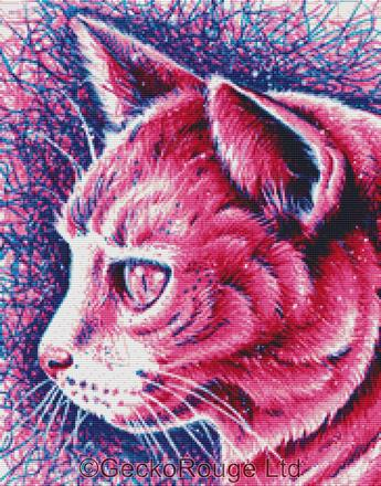 Kitty By Carissa Rose Cross Stitch Kit