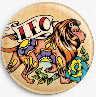 Leo By Illustrated Ink Licensed Art Needle Minder