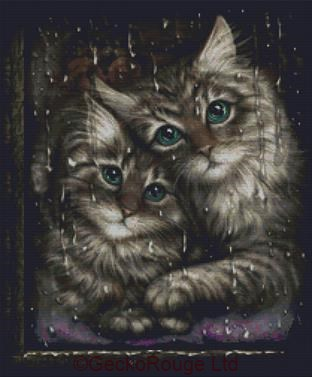Longing By SheBlackDragon Cross Stitch Kit