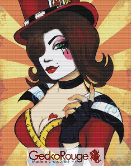 Mad Moxxi - Leilani Joy  Cross Stitch Kit - (LJMMOX)