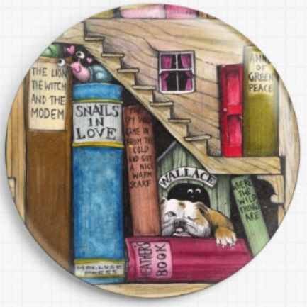 Neverending Stories By Colin Thompson Licensed Art Needle Minder 06