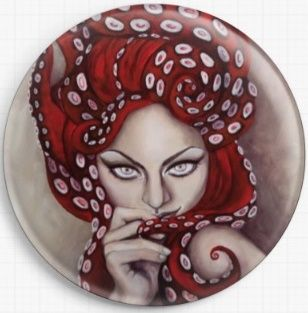 Octavia By Megan Mars Licensed Art Needle Minder