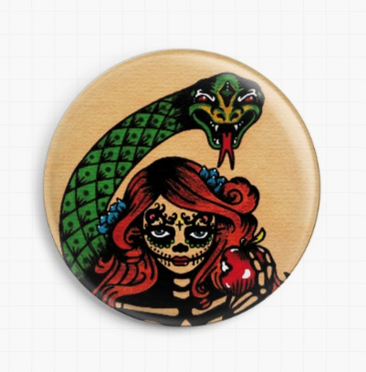 Original Sin By Illustrated Ink Licensed Art Needle Minder