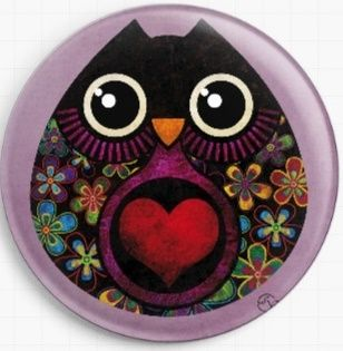 Owl Hatch By Sandra Vargas Licensed Art Needle Minder