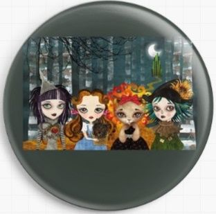 Oz Girls By Sandra Vargas Licensed Art Needle Minder