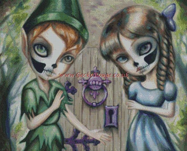 Peter and Wendy By Simona Candini Cross Stitch Kit