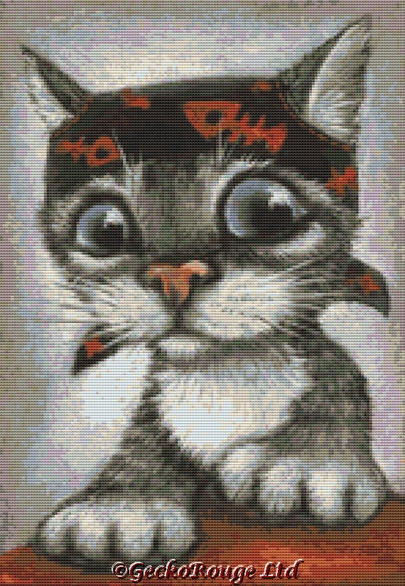 Pirate Cat By Tanya Bond Cross Stitch Kit (TBPRTCT)