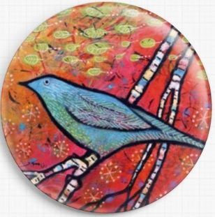 Safe Landing By Lindy Gaskill Licensed Art Needle Minder