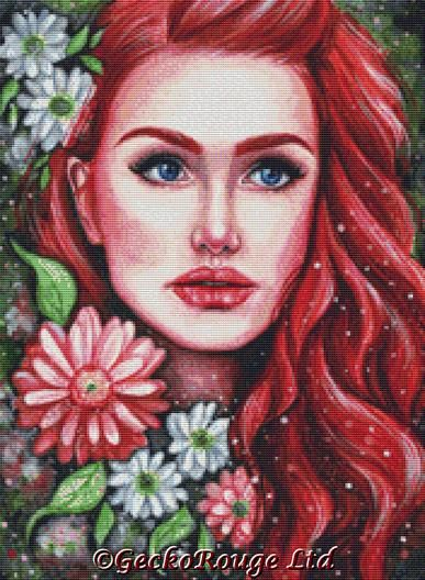 Scarlet By Emily Luella Cross Stitch Kit