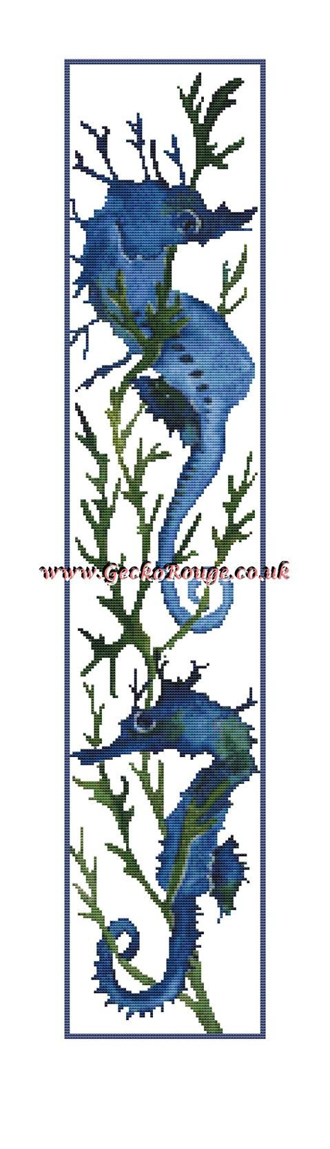 Seahorse Runner by Pamela Muller Cross Stitch Kit