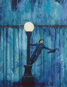 Singing In The Rain By Robert Bretz Cross Stitch Kit