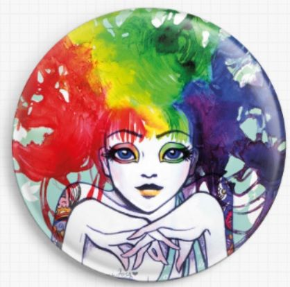 Spectra By Leilani Joy Licensed Art Needle Minder