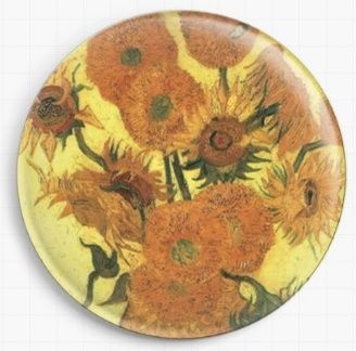 Sunflowers By Van Gogh Needle Minder