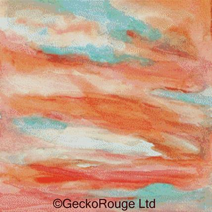 Sunset Sky By Rosie Brown Cross Stitch Kit