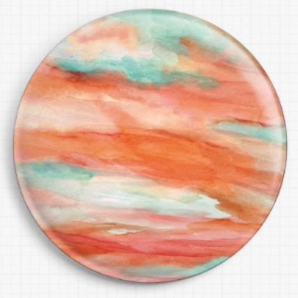 Sunset Sky By Rosie Brown Licensed Art Needle Minder