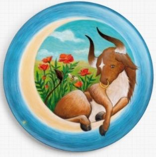 Taurus By Eya Claire Floyd Licensed Art Needle Minder SKU:EYTAUR1