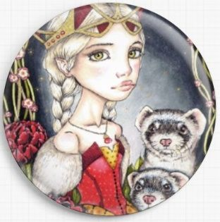 The Night Garden By Tanya Bond Licensed Art Needle Minder
