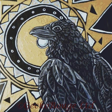 The Sun Raven By Lynnette Shelley Cross Stitch Kit