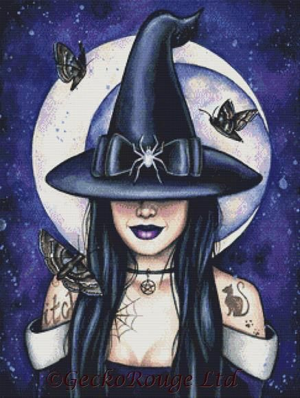 The Witching Hour By Emily Luella Cross Stitch Kit
