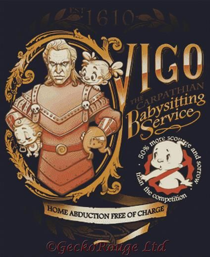 Vigo By Medusa Dollmaker Cross Stitch Kit (MDLVGO)